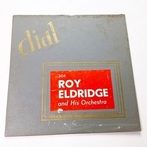 Vintage Dial Roy Eldridge Record Album 33 1/3